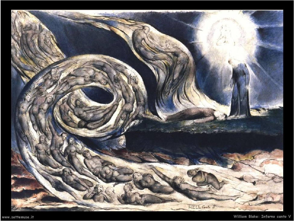 Concept of Dream Work – Detail of Blake's Inferno painting